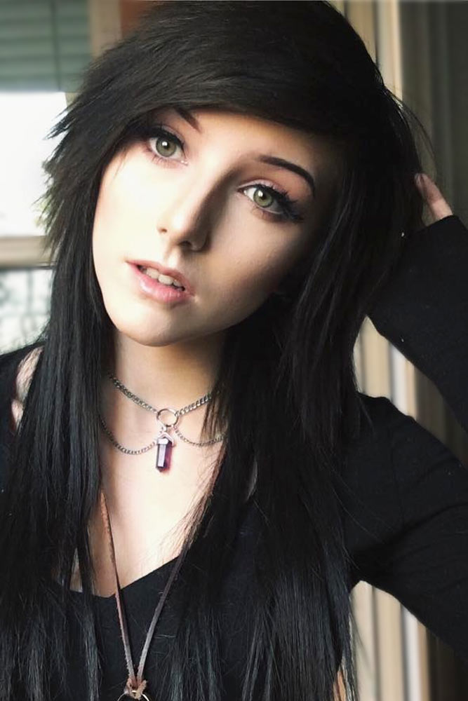 Black Emo Hair picture1