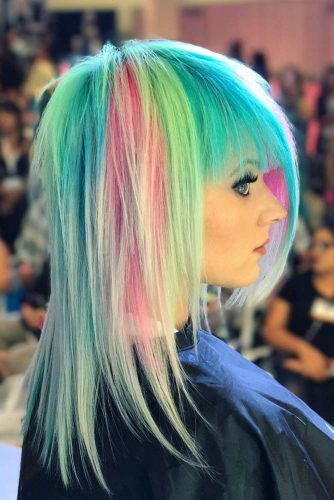 Emo Hair With Colored Stripes picture1