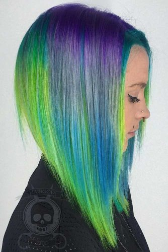 Emo Hair With Colored Stripes picture3