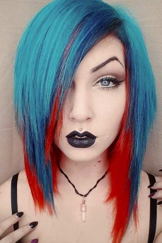 Colored Emo Hair picture2