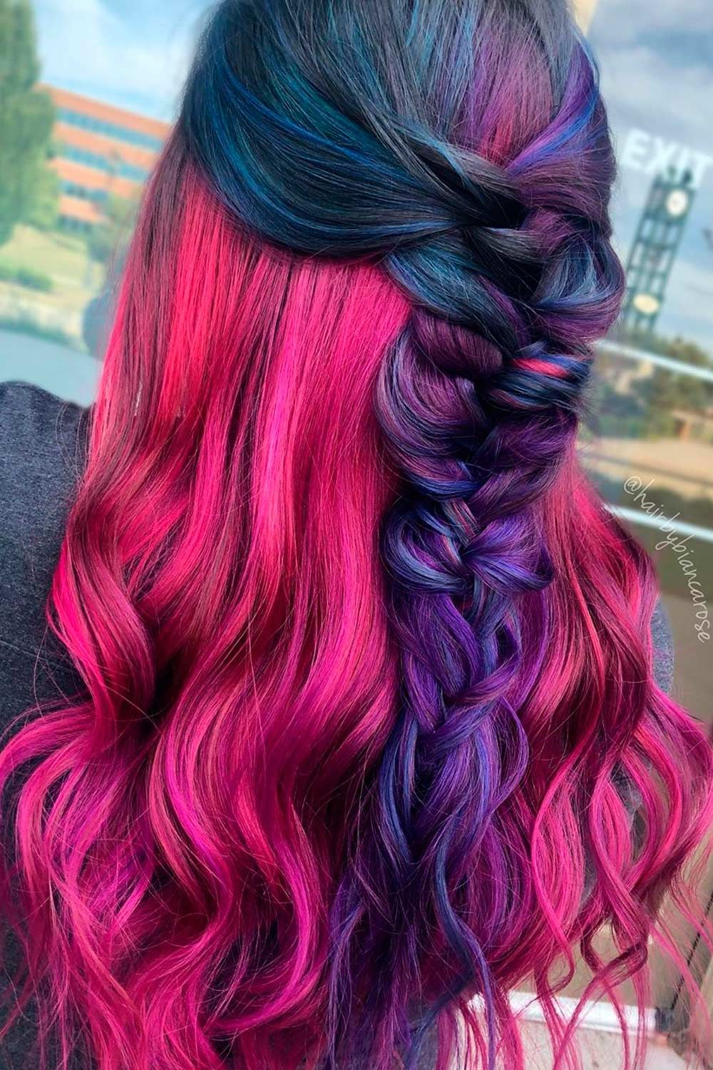 Galaxy Hair Braided Styles