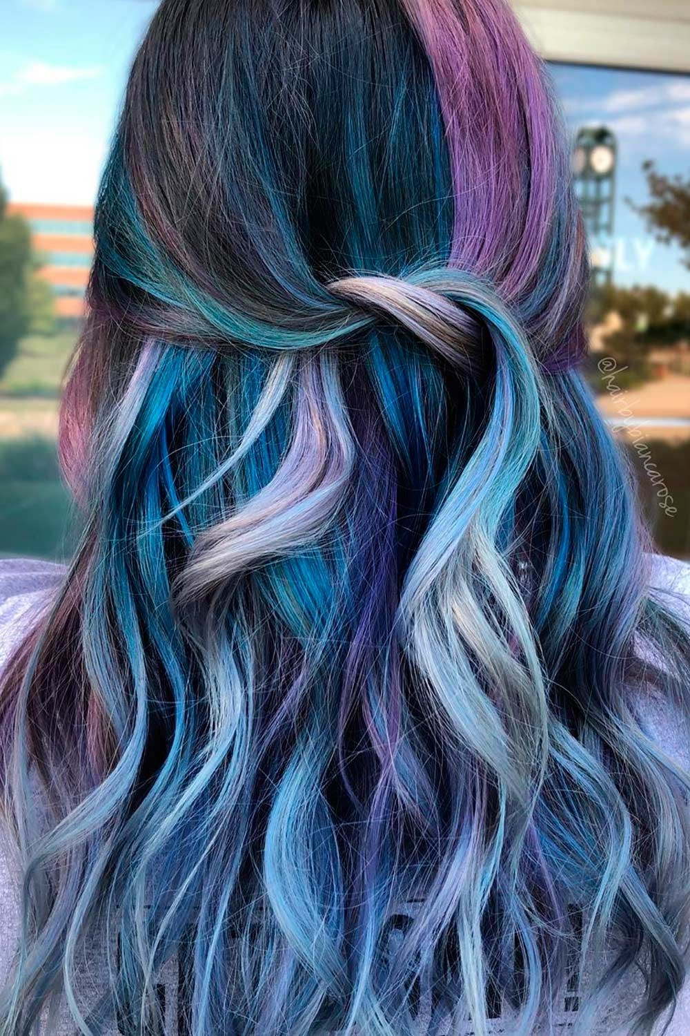 Galaxy Hair Balayage