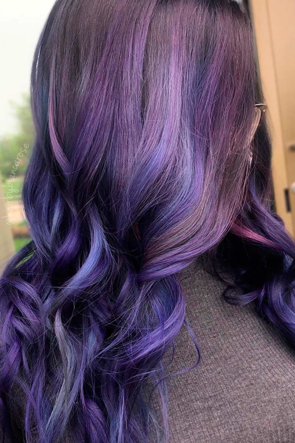 Dark Purple Galaxy Tones