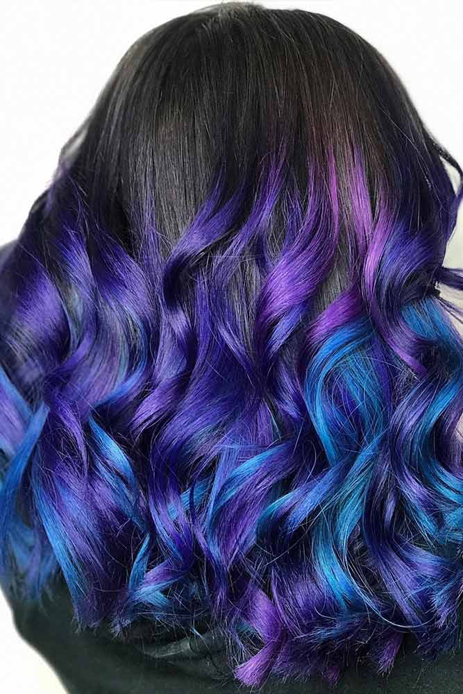 Galaxy Hair Ombre picture2