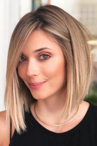 Medium Length Haircuts For A Square Face picture3