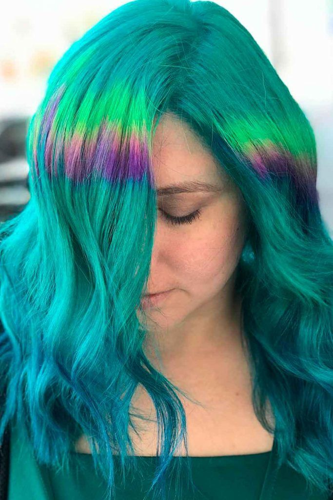 Bright Colorful Hairstyles