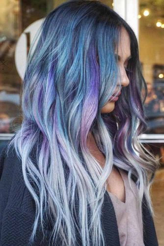 Mermaid Hair with Purple and Pink Tints picture1