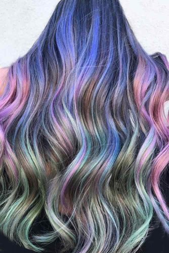 Mermaid Hair with Purple and Pink Tints picture3