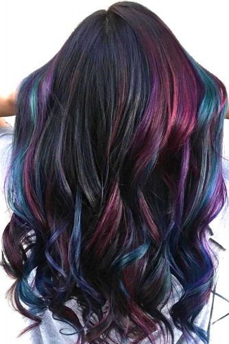 Oil Slick Color for Long Hair picture1