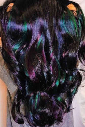 Oil Slick Color for Long Hair picture3