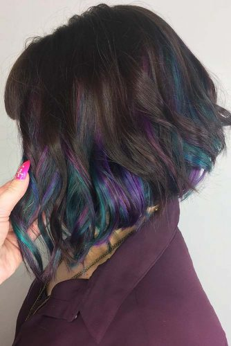 Oil Slick Hair at Home picture1