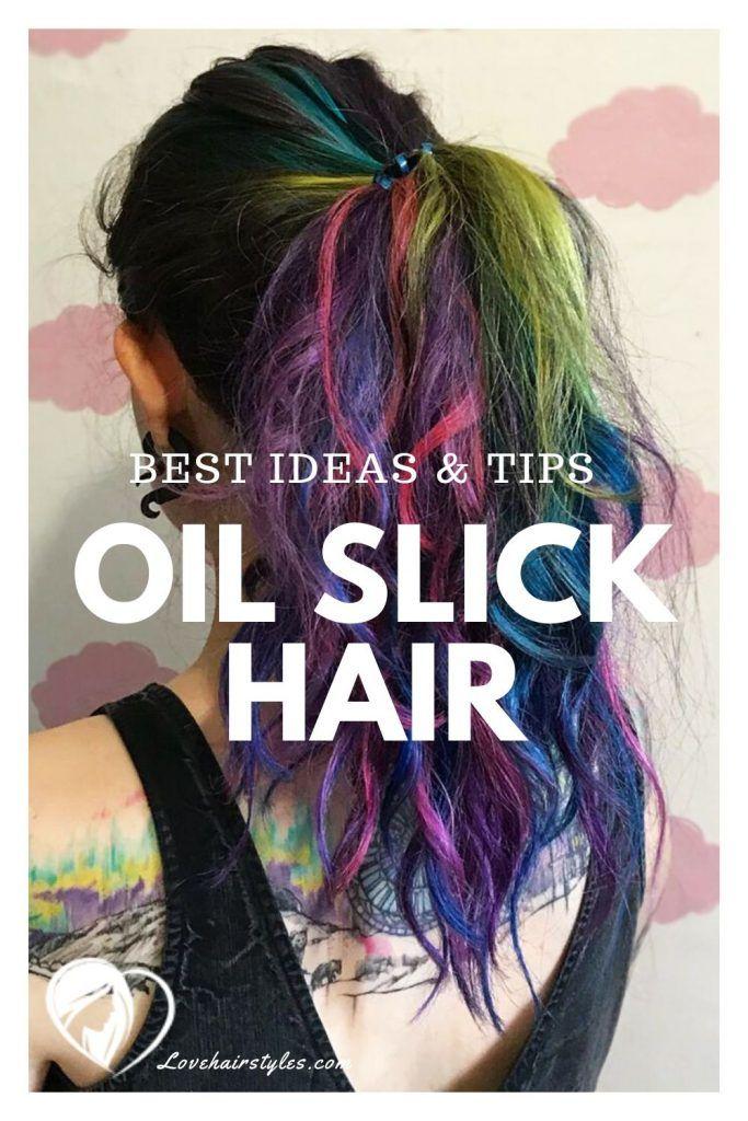 How To Choose Oil Slick Hair Dyes #oilslickhair