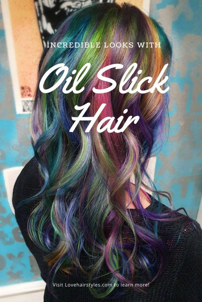 How To Maintain Oil Slick Hair Color #oilslickhair