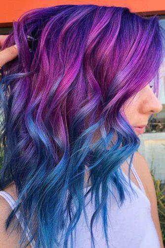 Oil Slick Ombre #oilslickhair #haircolor