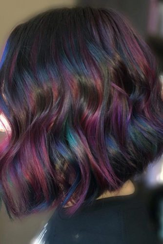 Oil Slick Hair at Home picture2
