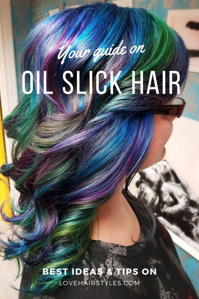 What Is Oil Slick Hair #oilslickhair