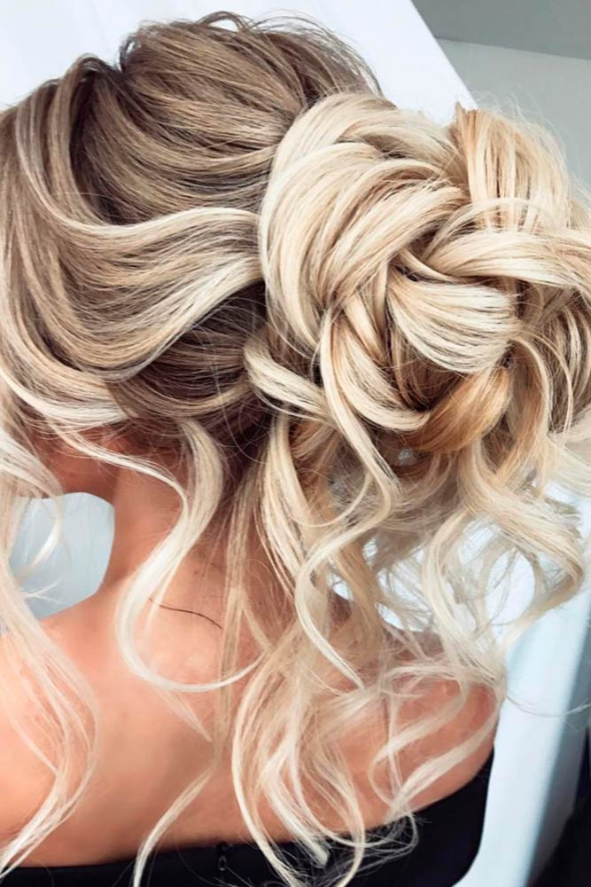 Bun Hairstyles For Prom Night Free Locks #promhairstyles #promhair