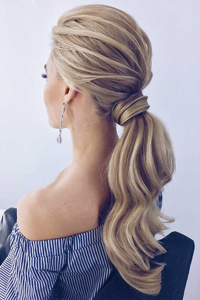 Ponytail Hairstyles For Prom Parties picture3