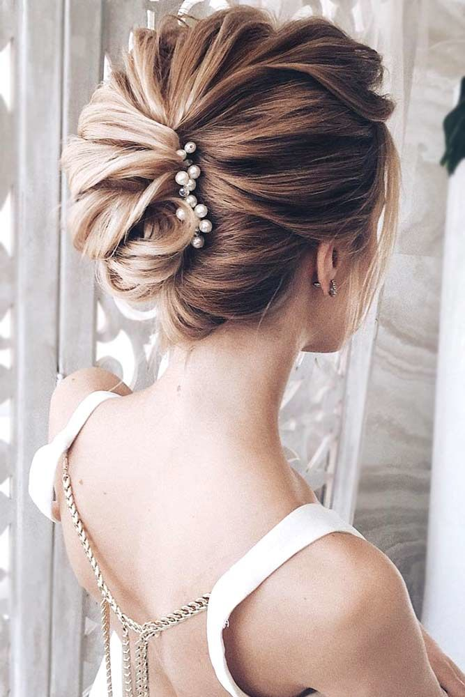 Twisted Prom Hairstyle Updos French Twist #promhairstyles #promhair