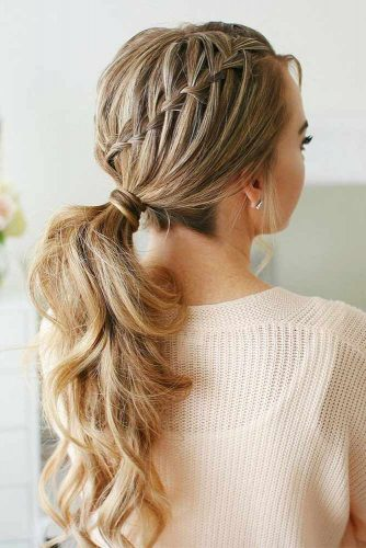Ponytail Hairstyles For Prom Parties picture1