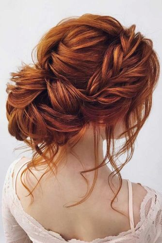 Put Your Long Hair In A Messy Bun picture1