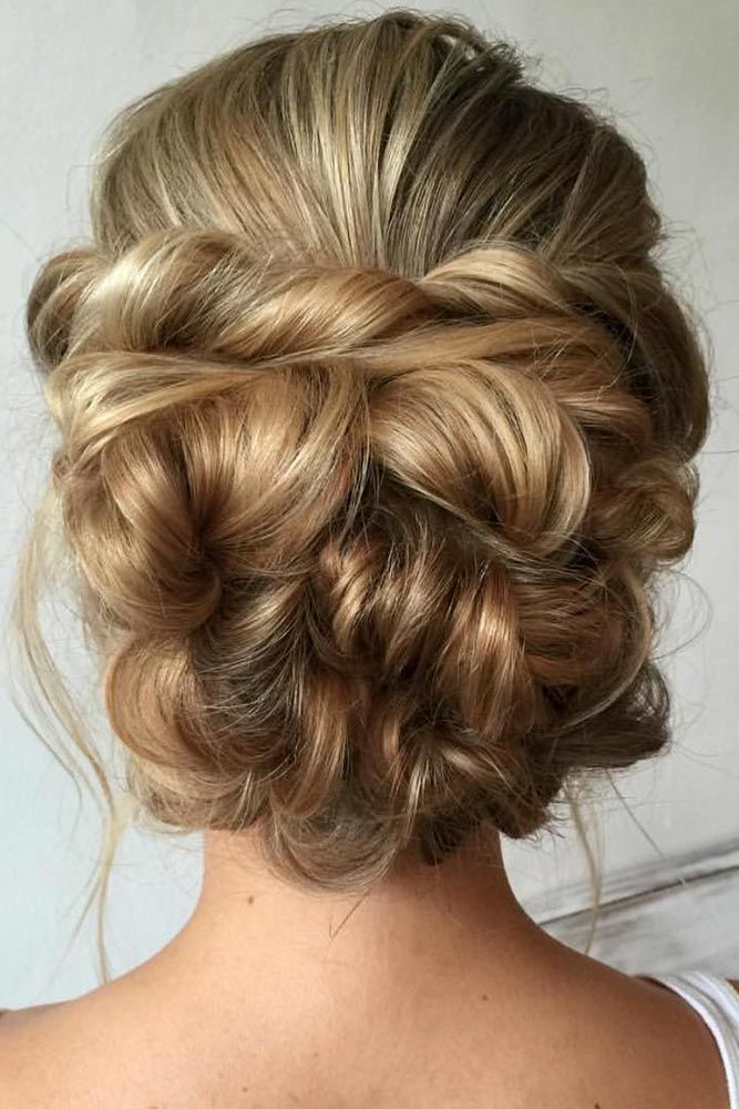 Twisted Prom Hairstyle Updos Blonde #promhairstyles #promhair