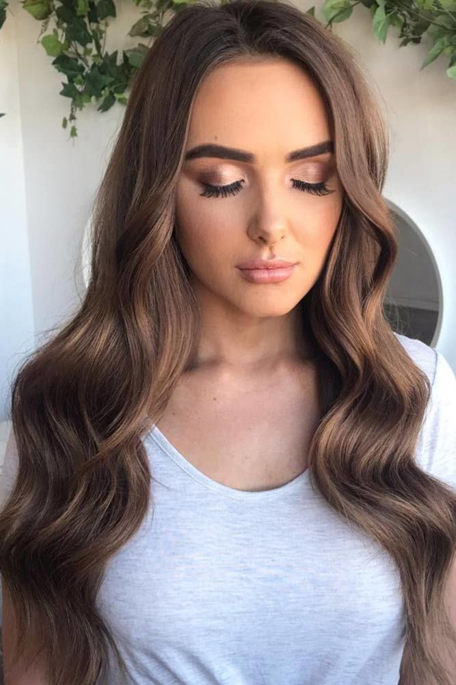 Just Wave It Brown #promhairstyles #promhair