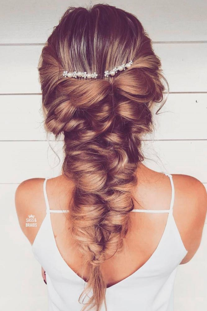 Let Your Hair Down Topsy Tail #promhairstyles #promhair