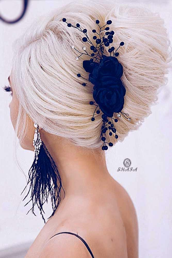 Twisted Prom Hairstyle Updos Accessories #promhairstyles #promhair