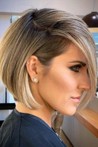 Balayage Technique For A Short Bob #shortbob #shortbobhairstyles #shorthairstyles #hairstyles