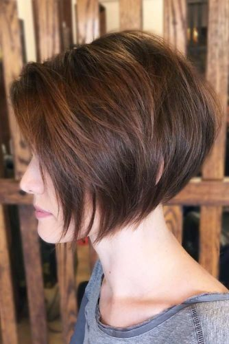Brown Short Bob picture2