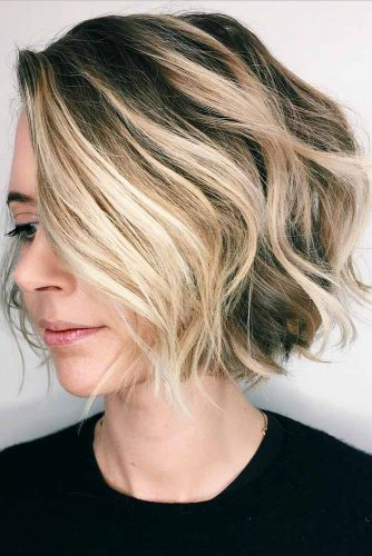 Balayage Technique For A Short Bob picture2