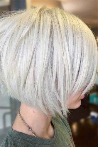 Blonde Short Bob Straight Hair #shortbob #shortbobhairstyles #shorthairstyles #hairstyles #blondehair