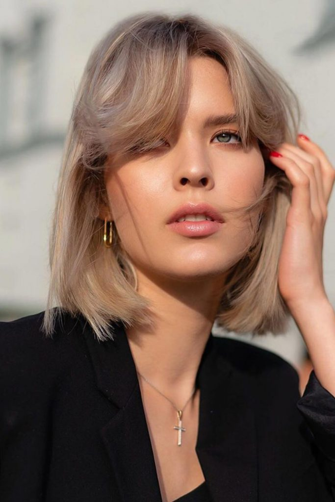 35 best short hairstyles for round faces in 2020