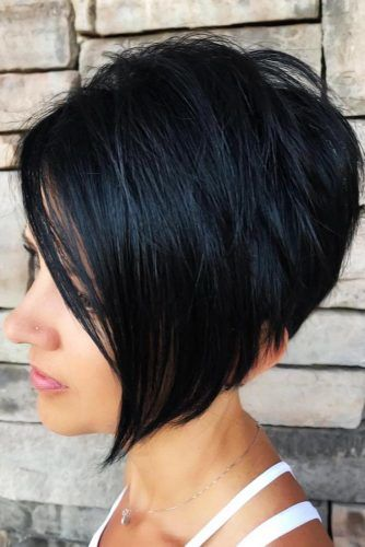Asymmetry Is The Best Choice! #roundface #shorthair #faceshapehairstyles