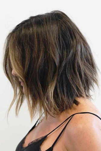 A line Shoulder Length Haircuts picture2