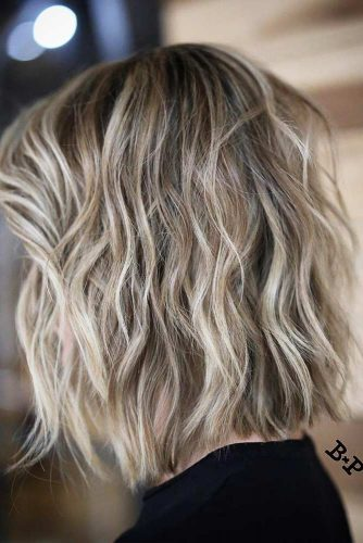 Layered Shoulder Length Haircuts picture2