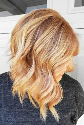 Brownish Strawberry Highlights #strawberryblondehair #blondehair