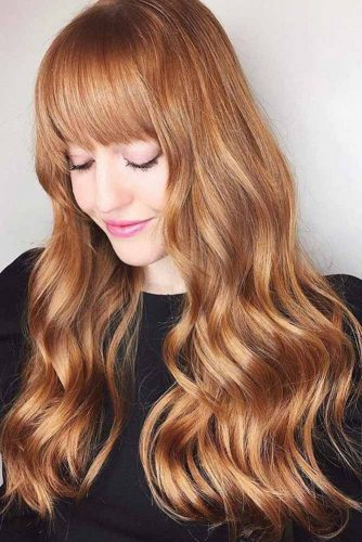 Dark Strawberry Blonde Hair Color picture3