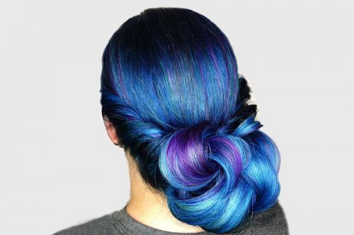 Bold Options of Blue Hair Color