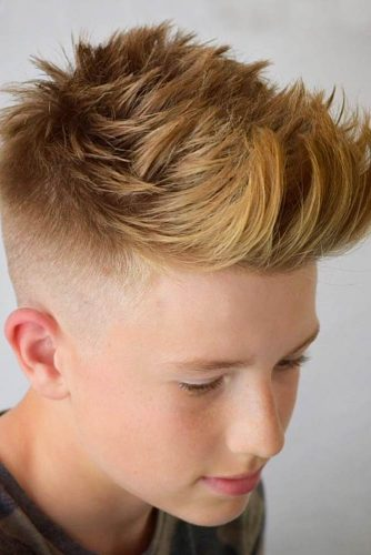 Taper Fade Boys Haircuts picture3