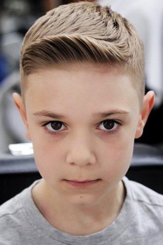 Taper Fade Boys Haircuts Brown #boyshaircuts