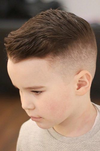 Undercut For Your Little Man Brown #boyshaircuts