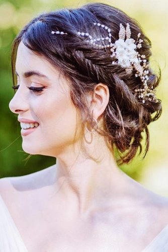 Gorgeous Wedding Hairstyles With Dutch & Three Strand Braids Fishtail #braids #updo