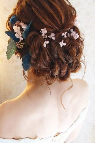 Braided Wedding Hair With Flower Crowns And Crystal Headpieces picture 1