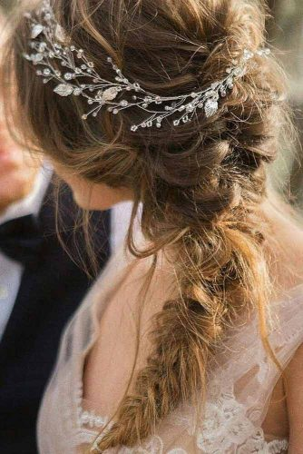 Side Swept Ponytail With Braid picture 6