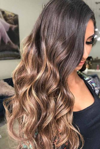 Balayage For Brunette Hair picture2