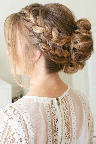Double French Braid Hairstyles picture1