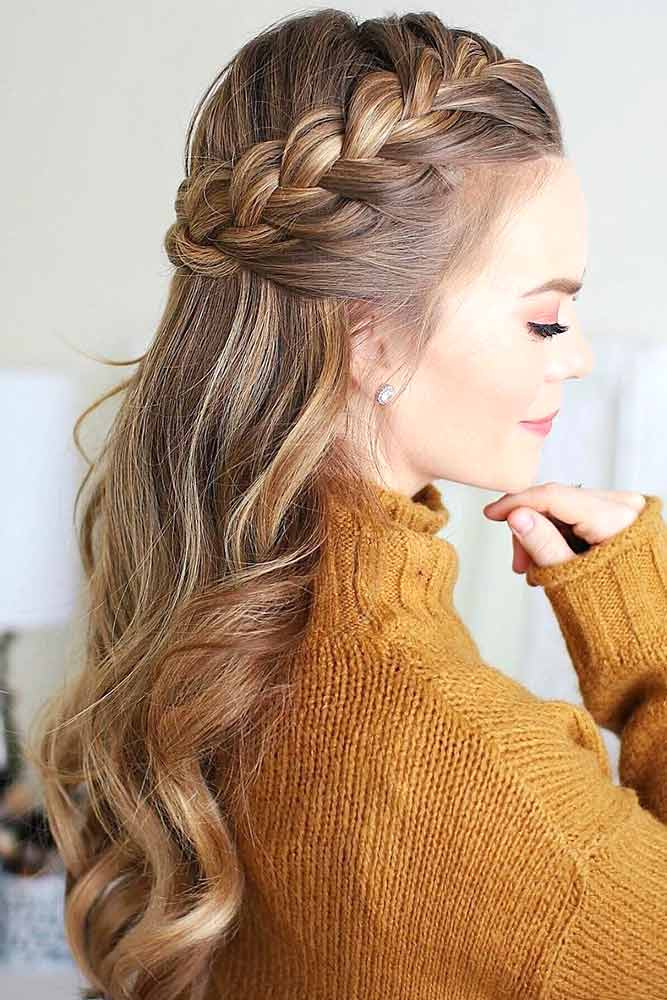 Half-Up French Braid picture1