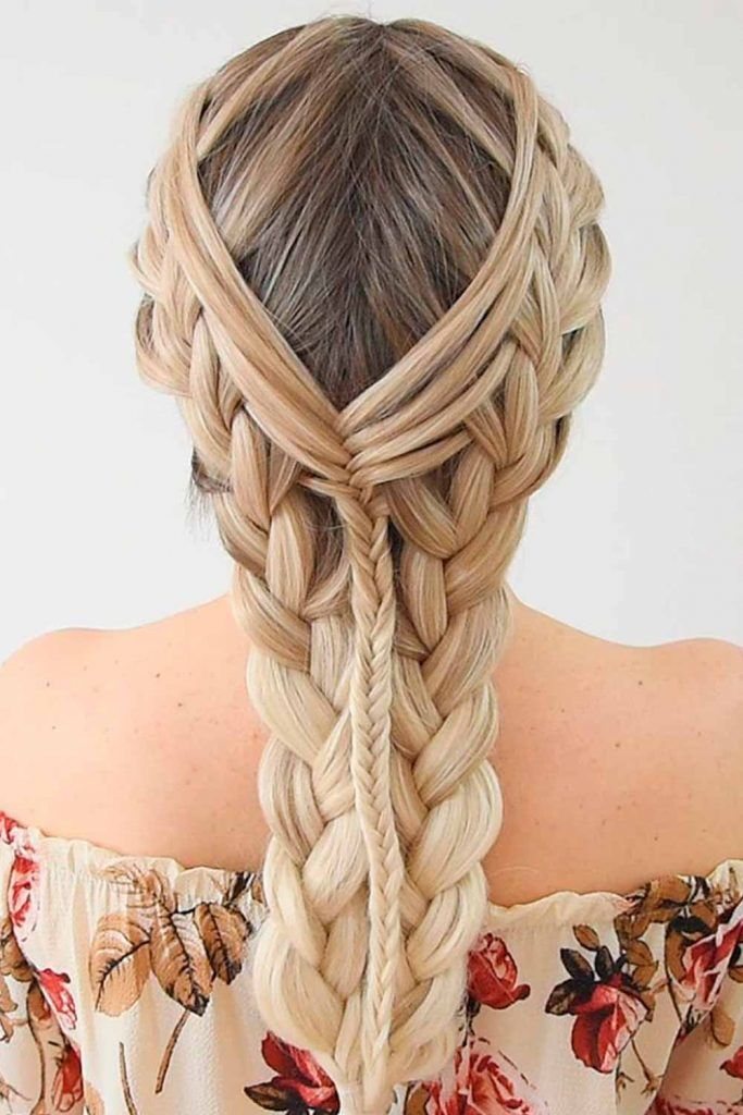 Pretty French Braids